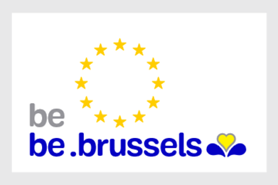 Official logo of Brussels (be Brussels)
