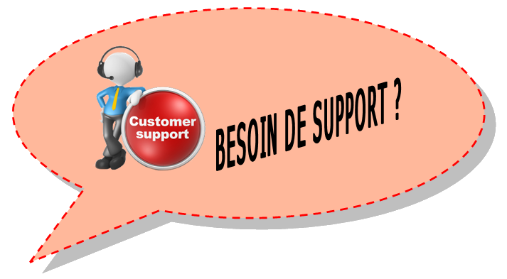 Contact - Besoin de support
